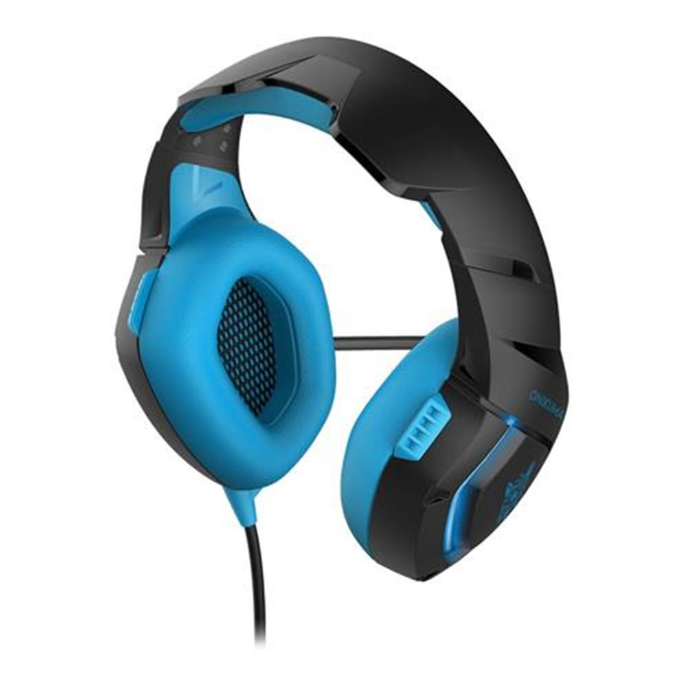 on-ear-over-ear-headphones ONIKUMA K1-B Gaming Headphone with Mic Active Noise-canceling for PS4 XBOX ONE - Blue ONIKUMA K1 B Gaming Headphone with Mic Active Noise canceling for PS4 XBOX ONE Blue 2