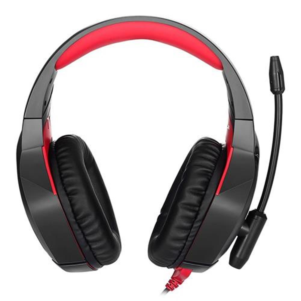 on-ear-over-ear-headphones ONIKUMA K1-B Gaming Headphone with Mic Active Noise-canceling for PS4 XBOX ONE - Red ONIKUMA K1 B Gaming Headphone with Mic Active Noise canceling for PS4 XBOX ONE Red 1