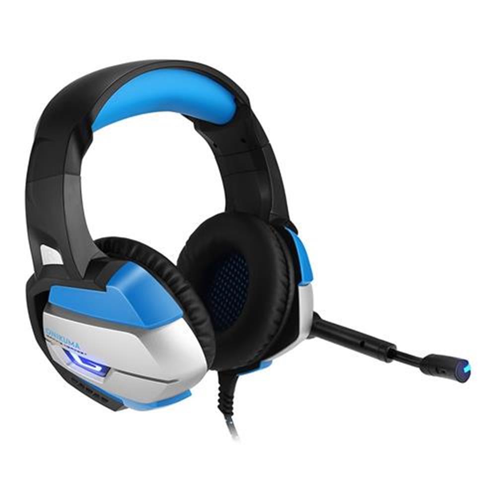 on-ear-over-ear-headphones ONIKUMA K5 Gaming Headset with Mic Stereo USB LED Headphones for PS4 XBOX One PC Laptop Mac - Blue + Black ONIKUMA K5 Gaming Headset with Mic Stereo USB LED Headphones for PS4 XBOX One PC Laptop Mac Blue Black 1