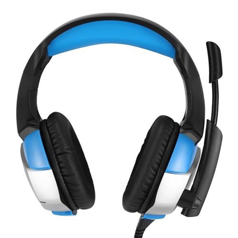 on-ear-over-ear-headphones ONIKUMA K5 Gaming Headset with Mic Stereo USB LED Headphones for PS4 XBOX One PC Laptop Mac - Blue + Black ONIKUMA K5 Gaming Headset with Mic Stereo USB LED Headphones for PS4 XBOX One PC Laptop Mac Blue Black 2