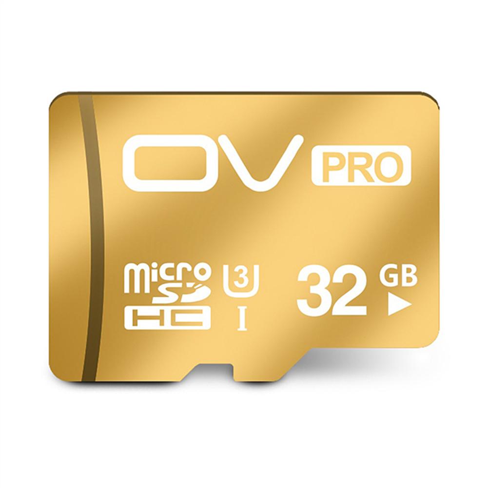 microsd-tf-card-OV UHS-I U3 32GB Micro SD Card TF Card High Speed Mobile Phone Memory Card - Gold-OV UHS I U3 32GB Micro SD Card TF Card High Speed Mobile Phone Memory Card Gold