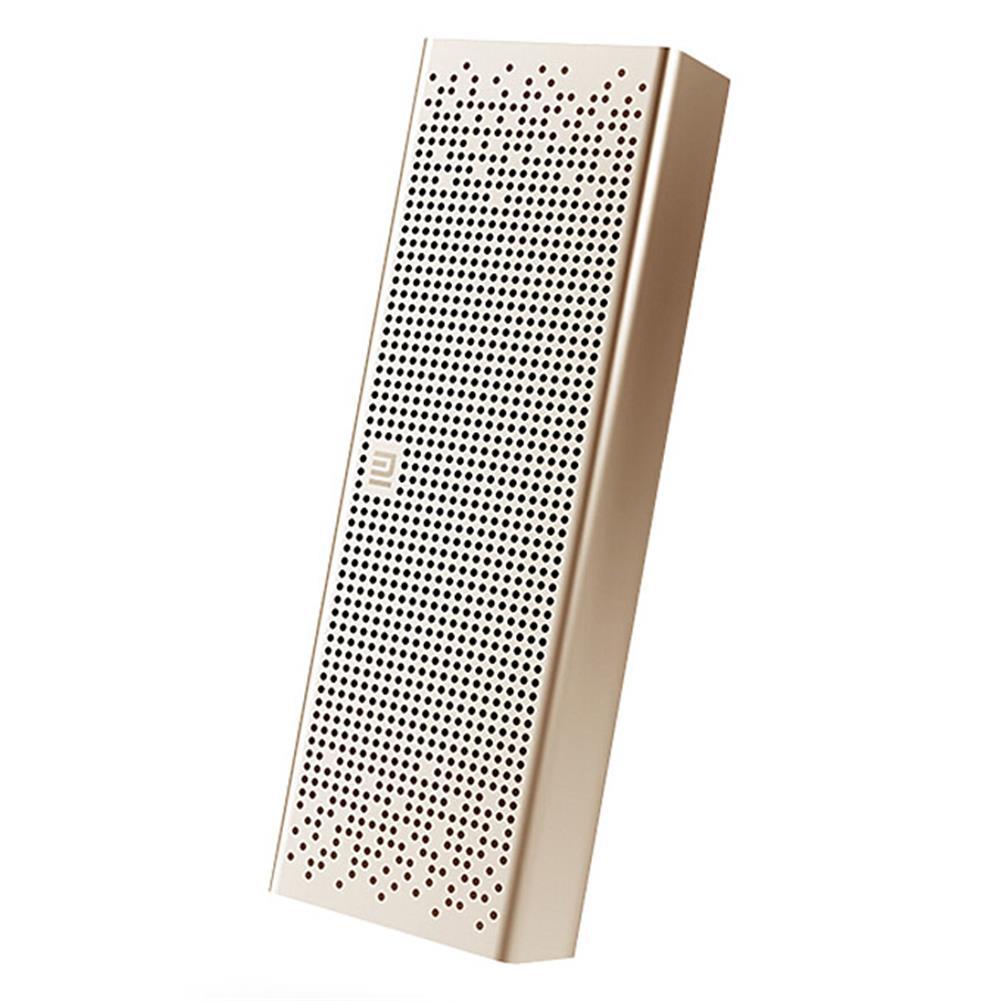 bluetooth-speakers Original Xiaomi Metal Box BT4.0+EDR Bluetooth Speaker 2.4GHZ-2.48HZ Mini Portable Stereo Wireless Connection Handsfree - Gold Original Xiaomi Metal Box BT4 0 EDR Bluetooth Speaker 2 4GHZ 2 48HZ Mini Portable Stereo Wireless Connection Handsfree Gold