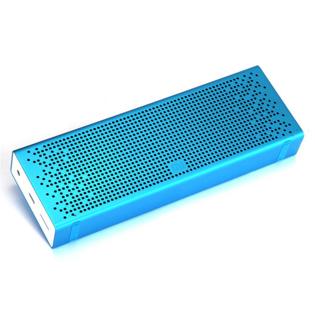 bluetooth-speakers Original Xiaomi Metal Box BT4.0+EDR Speaker 2.4GHZ-2.48HZ Mini Portable Stereo Wireless Connection Handsfree - Blue Original Xiaomi Metal Box BT4 0 EDR Speaker 2 4GHZ 2 48HZ Mini Portable Stereo Wireless Connection Handsfree Blue 1