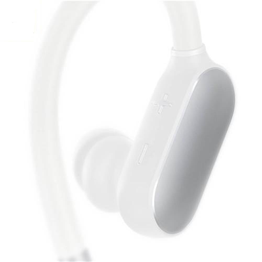 bluetooth-headphones Original Xiaomi Wireless Bluetooth 4.1 Music Sport Earbuds Ear-hook Design IPX4 Waterproof Wired Control - White Original Xiaomi Wireless Bluetooth 4 1 Music Sport Earbuds Ear hook Design IPX4 Waterproof Wired Control White