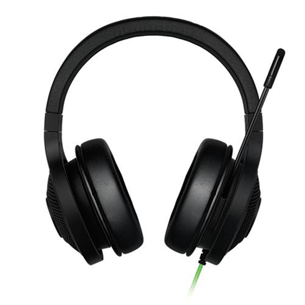 on-ear-over-ear-headphones Razer Kraken Essential Noise Isolating Over-Ear Gaming Headset with Mic for PC/Laptop/Phone - Black Razer Kraken Essential Noise Isolating Over Ear Gaming Headset with Mic for PC Laptop Phone Black 2