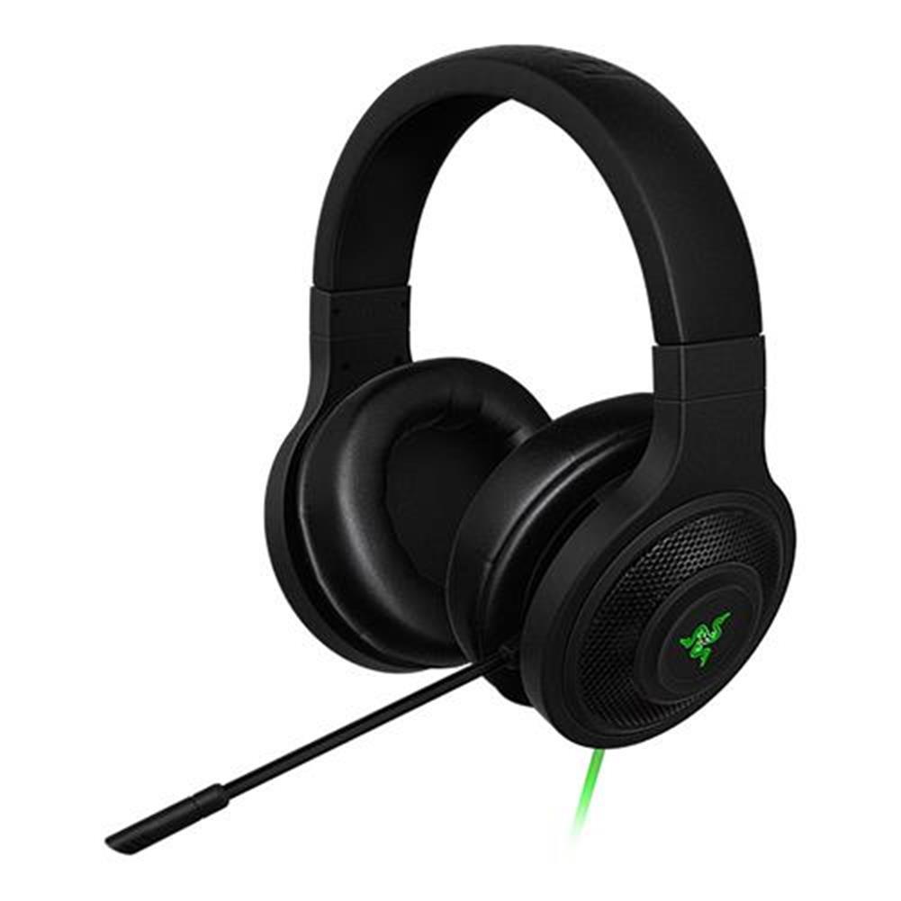on-ear-over-ear-headphones Razer Kraken Essential Noise Isolating Over-Ear Gaming Headset with Mic for PC/Laptop/Phone - Black Razer Kraken Essential Noise Isolating Over Ear Gaming Headset with Mic for PC Laptop Phone Black 5