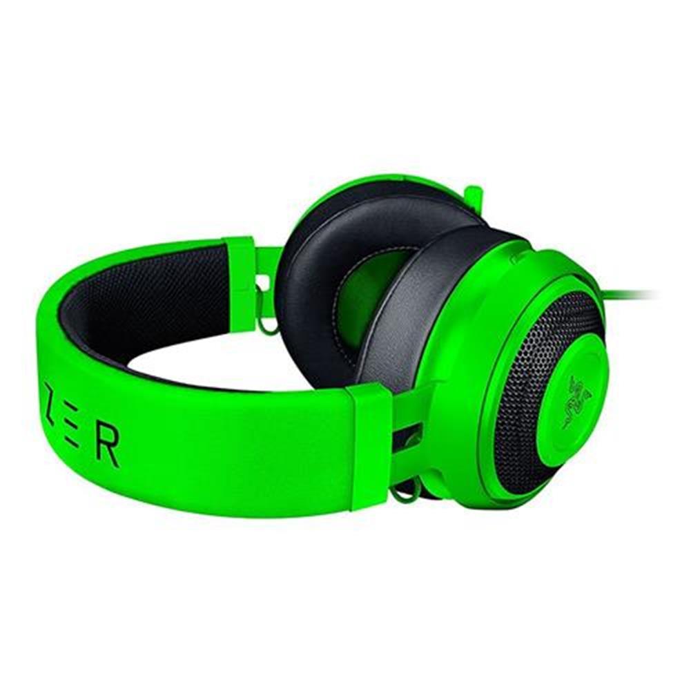 on-ear-over-ear-headphones Razer Kraken Pro V2 Analog Gaming Headset with Retractable Mic Oval Ear Cushions - Green Razer Kraken Pro V2 Analog Gaming Headset with Retractable Mic Oval Ear Cushions Green 3