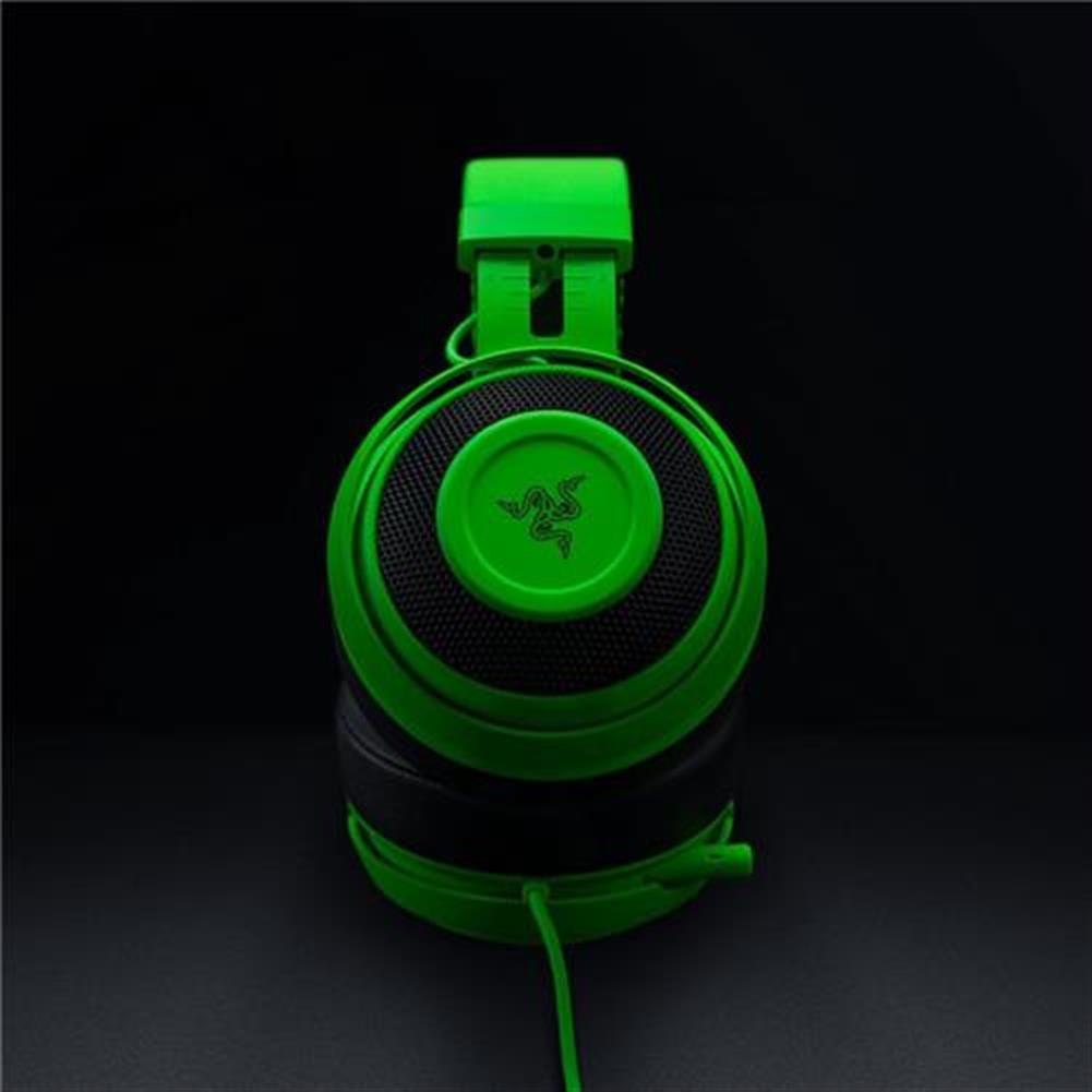 on-ear-over-ear-headphones Razer Kraken Pro V2 Analog Gaming Headset with Retractable Mic Oval Ear Cushions - Green Razer Kraken Pro V2 Analog Gaming Headset with Retractable Mic Oval Ear Cushions Green 4