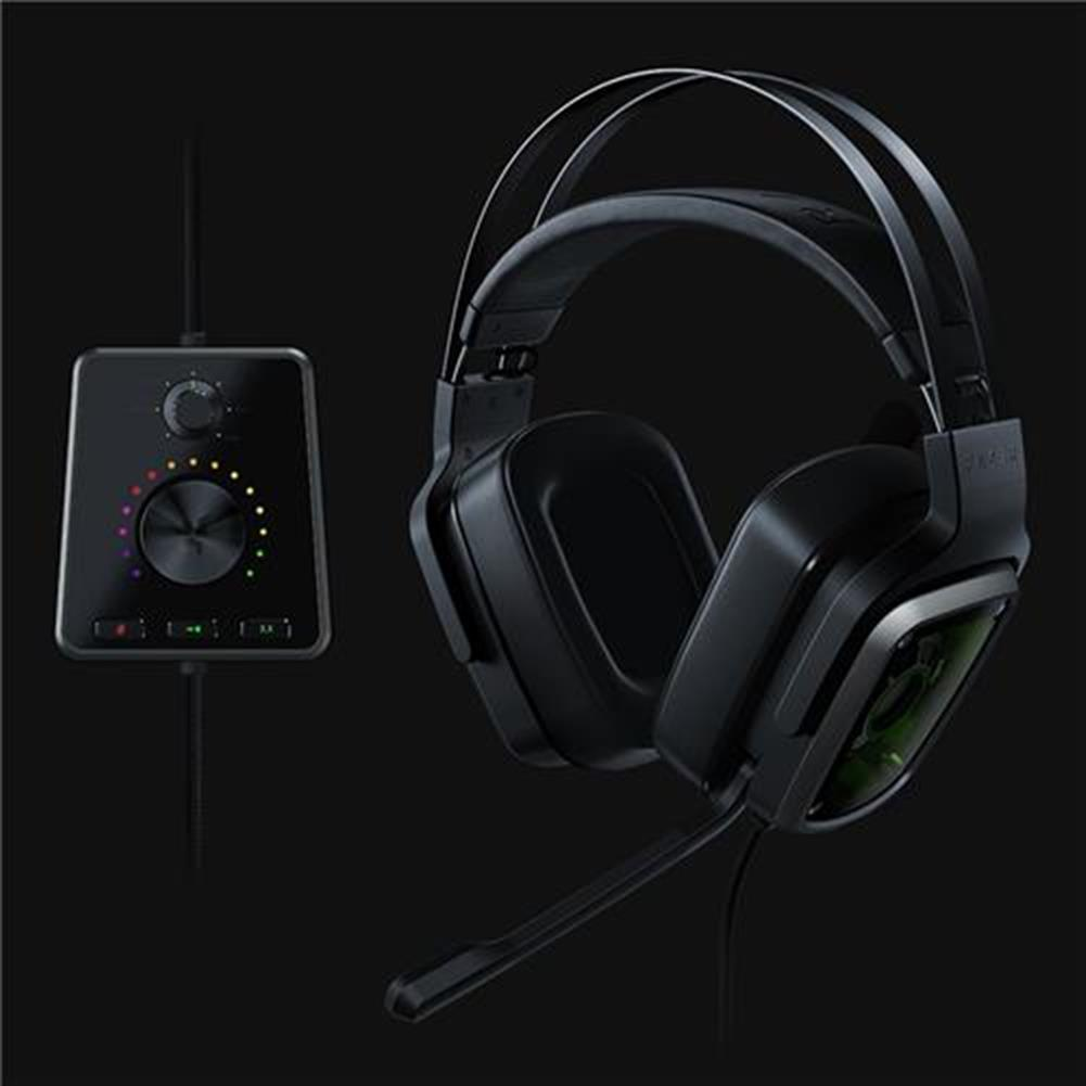 on-ear-over-ear-headphones Razer Tiamat 7.1 V2 Analog Digital Surround Sound Gaming Headset - Black Razer Tiamat 7 1 V2 Analog Digital Surround Sound Gaming Headset Black 5