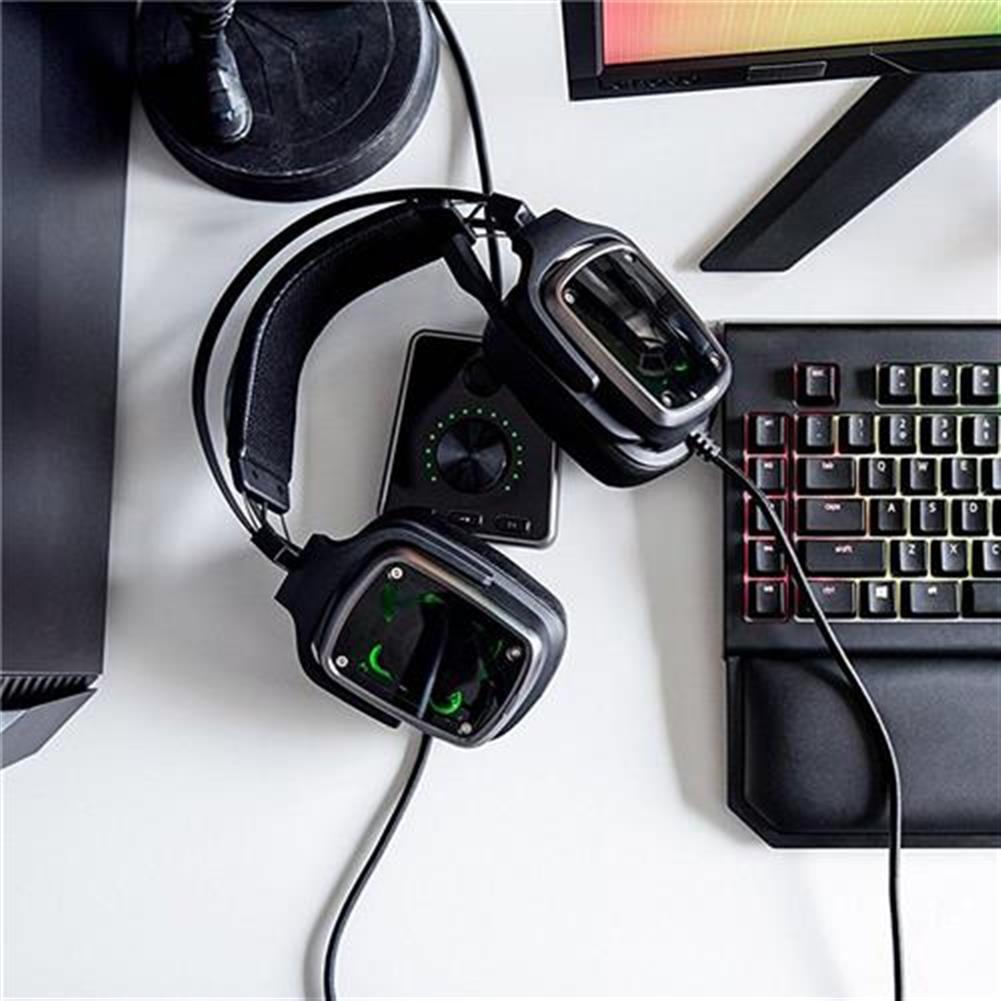 on-ear-over-ear-headphones Razer Tiamat 7.1 V2 Analog Digital Surround Sound Gaming Headset - Black Razer Tiamat 7 1 V2 Analog Digital Surround Sound Gaming Headset Black 6
