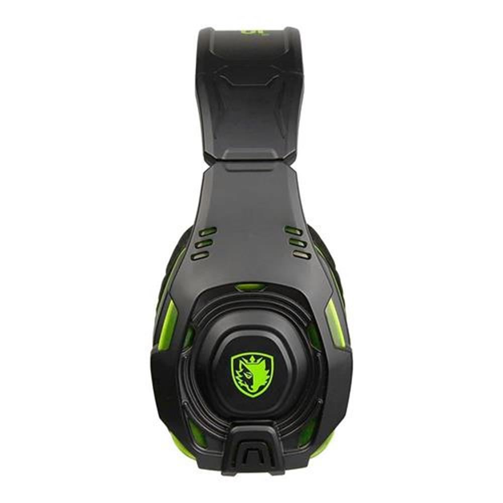 on-ear-over-ear-headphones SADES SA-938 Gaming Headset with Mic Volume Control Noise Canceling - Black + Green SADES SA 938 Gaming Headset with Mic Volume Control Noise Canceling Black Green 3