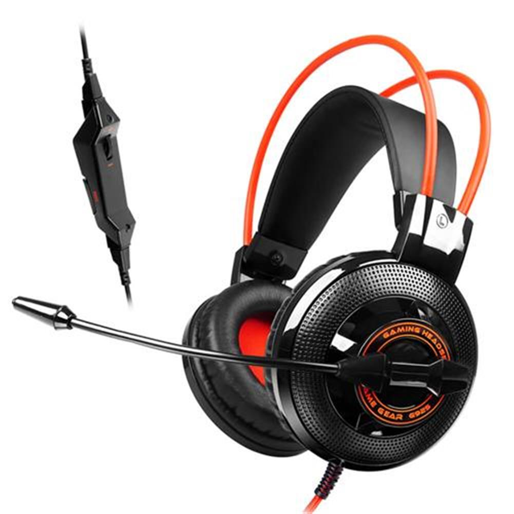 on-ear-over-ear-headphones SOMIC G925 Stereo Gaming Headsets with Mic Sound localization for Game Player - Orange SOMIC G925 Stereo Gaming Headsets with Mic Sound localization for Game Player Orange 2