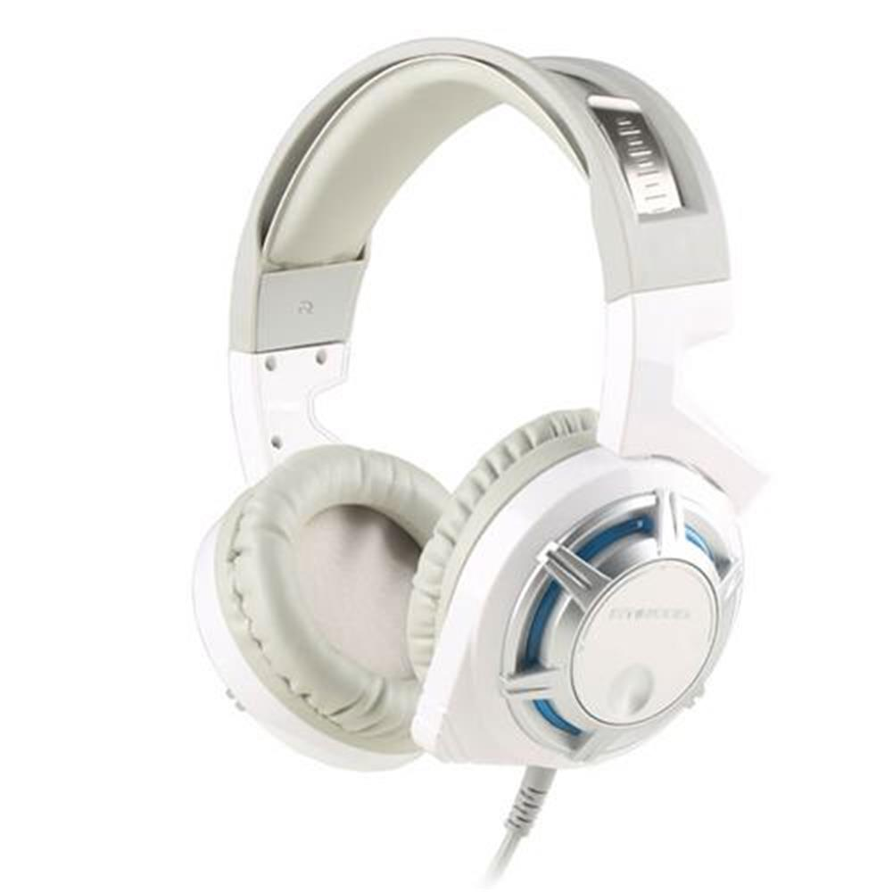 on-ear-over-ear-headphones-SOMIC G926 Stereo Gaming Headsets with Mic Sound Localization LED Light for Game Player - White-SOMIC G926 Stereo Gaming Headsets with Mic Sound Localization LED Light for Game Player White
