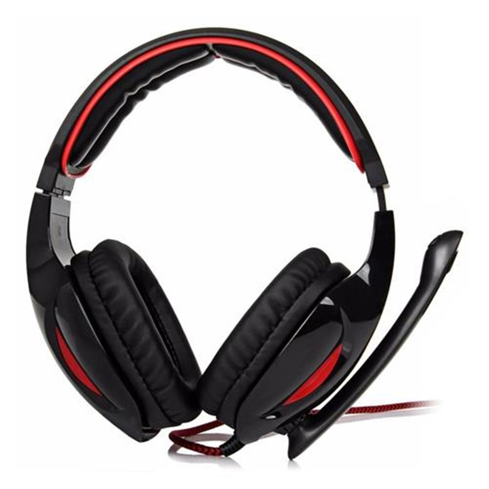 on-ear-over-ear-headphones Sades SA-902 USB Gaming Headset with Mic 7.1 Surround Sound Volume Control for PC Laptop - Black Sades SA 902 USB Gaming Headset with Mic 7 1 Surround Sound Volume Control for PC Laptop Black 5