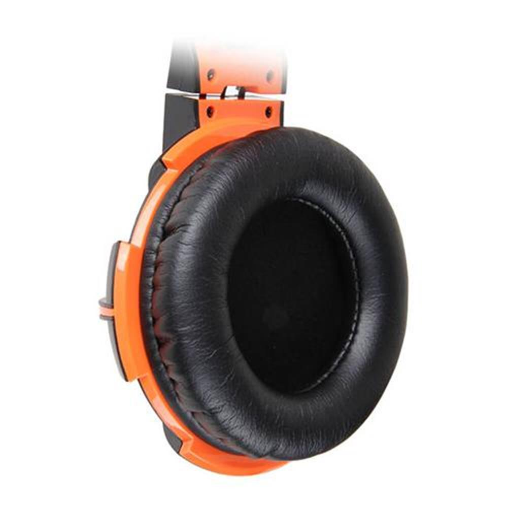 on-ear-over-ear-headphones Somic G905 Over-ear Stereo Gaming Headsets with Mic Suspension Headband Volume Control - Orange Somic G905 Over ear Stereo Gaming Headsets with Mic Suspension Headband Volume Control Orange 3