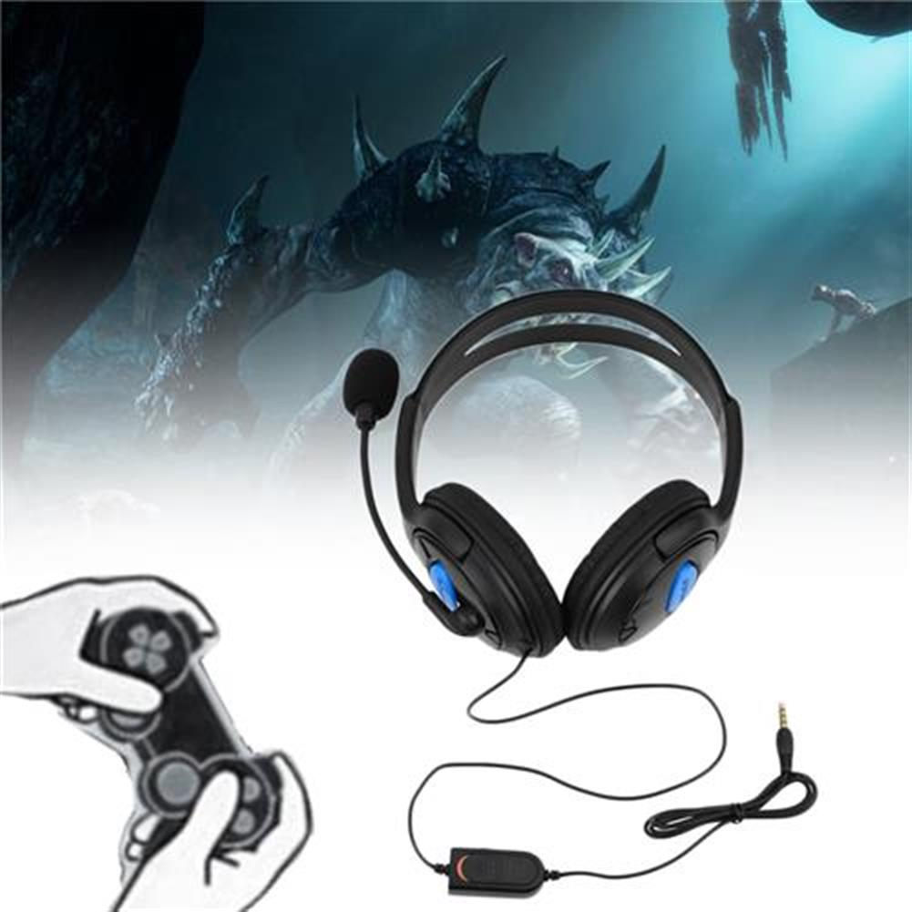 on-ear-over-ear-headphones Wired Gaming Headset Headphones with Mic for Sony PS4 PlayStation 4 - Black Wired Gaming Headset Headphones with Mic for Sony PS4 PlayStation 4 Black 1