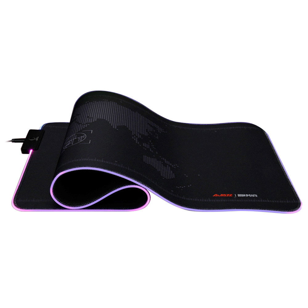 mouse-pads Ajazz AJPADS Luminous Mouse Pad 12 Lighting Effects Foldable Anti-Slip Mat-Black Ajazz AJPADS Luminous Mouse Pad 12 Lighting Effects Foldable Anti Slip Mat Black