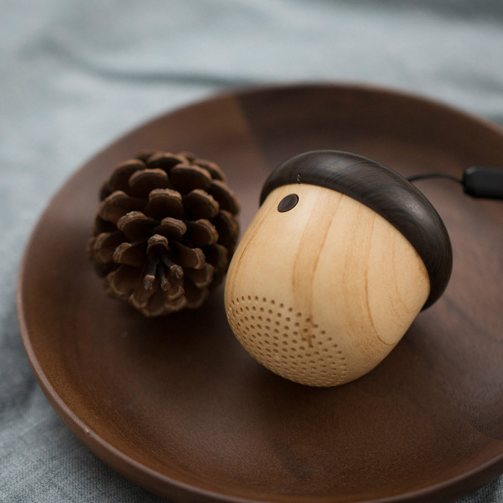 bluetooth-speakers J2 Ultra-Portable Wireless Bluetooth Speaker Wood Texture-Brown J2 Ultra Portable Wireless Bluetooth Speaker Wood Texture Brown 1