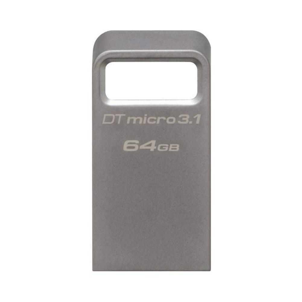 usb-flash-drives Kingston DTMC3 64GB USB Flash Drive USB3.1 Interface 100MB/s Read Speed - Silver Kingston DTMC3 64GB USB Flash Drive USB3.1 Interface 100MBs Read Speed Silver