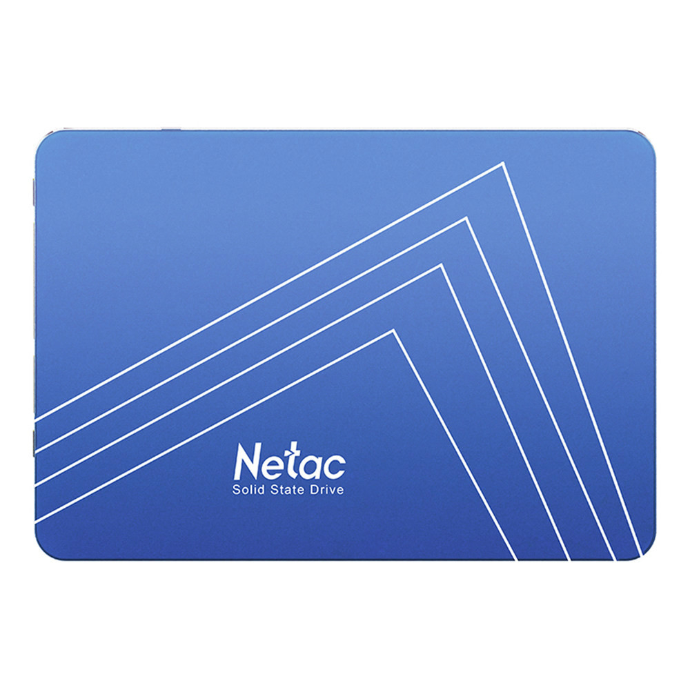 storage Netac N500S 480GB SATA3 SSD 2.5 Inch Solid State Drive Reading Speed 500MB/s - Blue Netac N500S 480GB SATA3 SSD 2.5 Inch Solid State Drive Reading Speed 500 MBs Blue