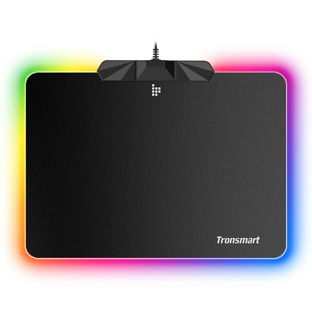 mouse-pads Tronsmart Shine X RGB Gaming Mouse Pad USB Mat with 16.8 Million Colors Non-slip Base Optimized for Gaming Sensors Tronsmart Shine X RGB Gaming Mouse Pad USB Mat with 16.8 Million Colors Non slip Base Optimized for Gaming Sensors