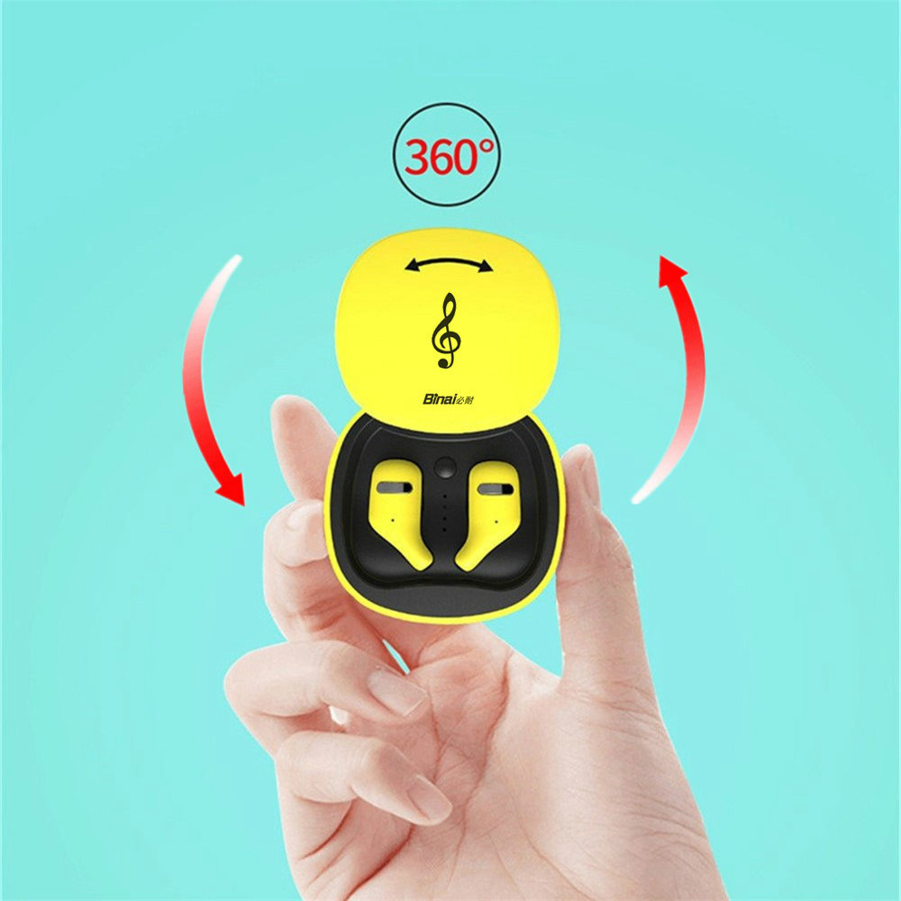 earbud-headphones BINANI Mini A8 TWS Bluetooth 5.0 Earbuds IPX5 Water Resistant BINANI Mini A8 TWS Bluetooth 5.0 Earbuds IPX5 Water Resistant 1