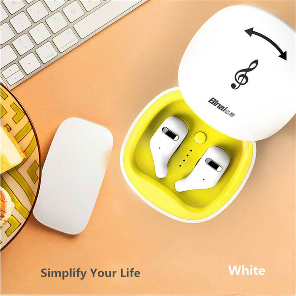 earbud-headphones BINANI Mini A8 TWS Bluetooth 5.0 Earbuds IPX5 Water Resistant BINANI Mini A8 TWS Bluetooth 5.0 Earbuds IPX5 Water Resistant 10
