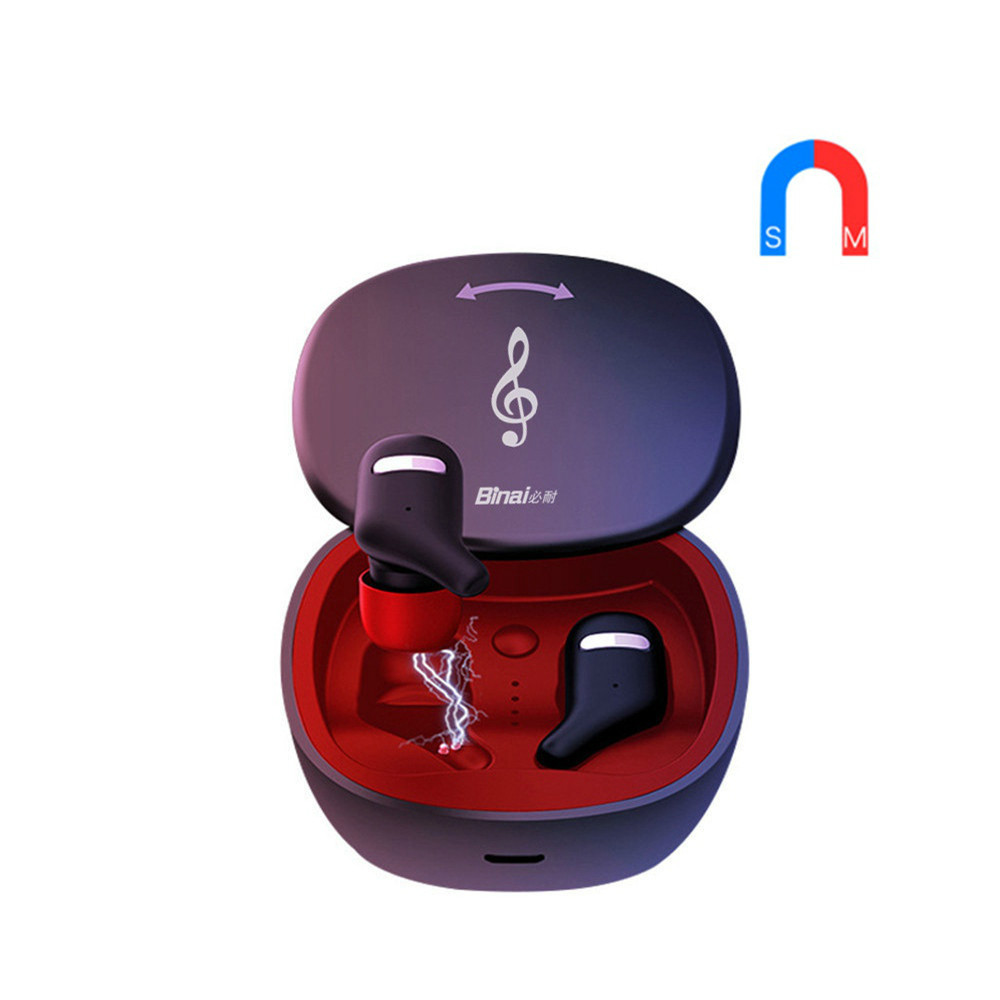 earbud-headphones BINANI Mini A8 TWS Bluetooth 5.0 Earbuds IPX5 Water Resistant BINANI Mini A8 TWS Bluetooth 5.0 Earbuds IPX5 Water Resistant 11