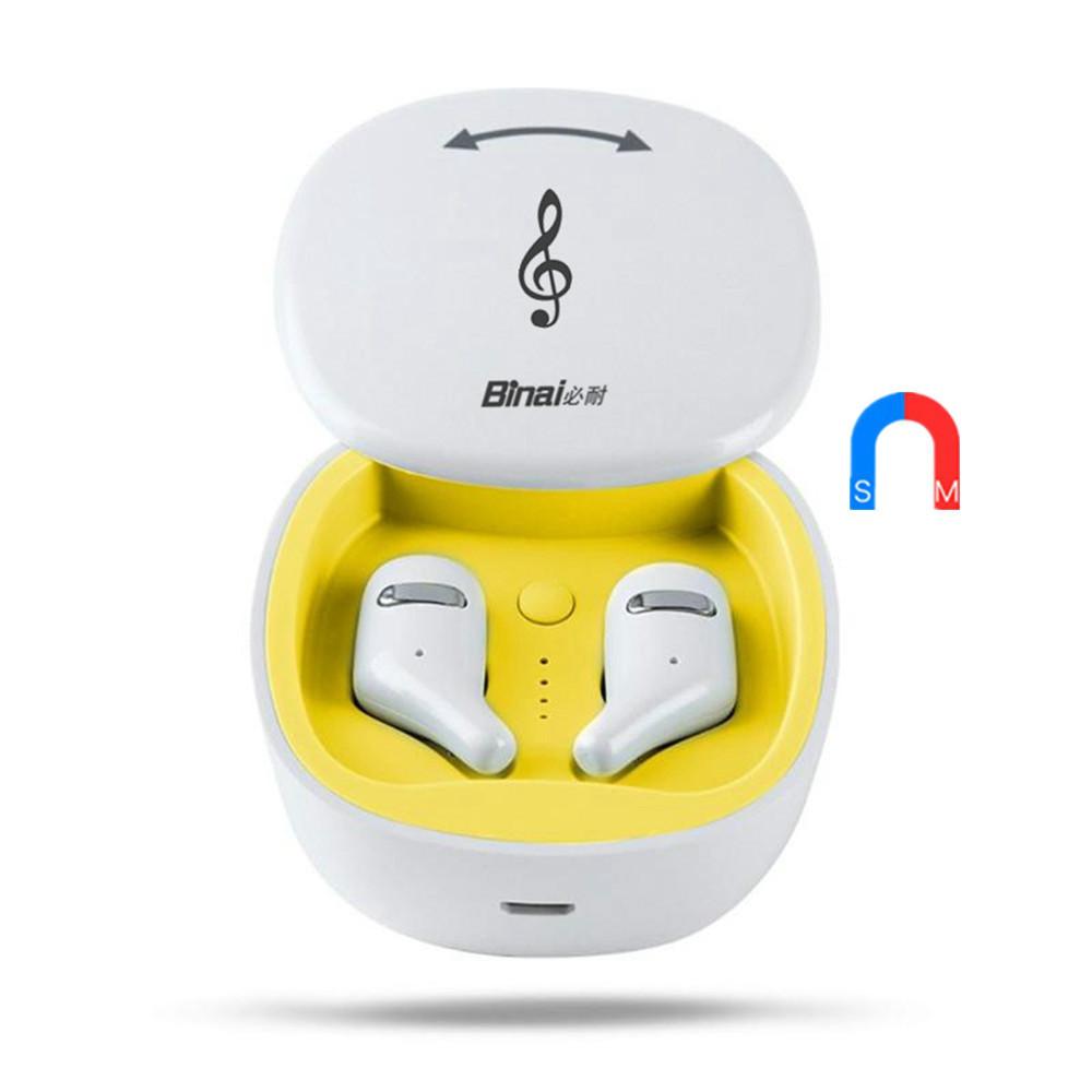 earbud-headphones BINANI Mini A8 TWS Bluetooth 5.0 Earbuds IPX5 Water Resistant BINANI Mini A8 TWS Bluetooth 5.0 Earbuds IPX5 Water Resistant 6