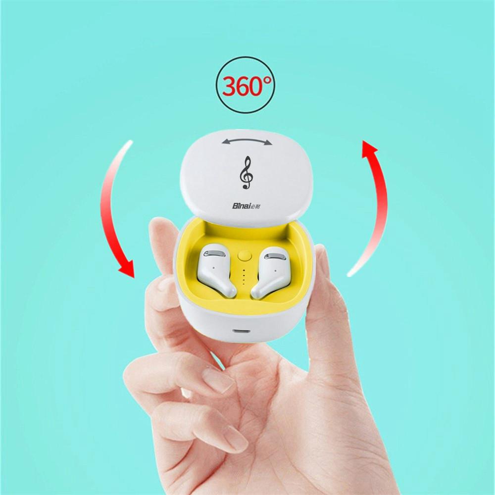 earbud-headphones BINANI Mini A8 TWS Bluetooth 5.0 Earbuds IPX5 Water Resistant BINANI Mini A8 TWS Bluetooth 5.0 Earbuds IPX5 Water Resistant 7