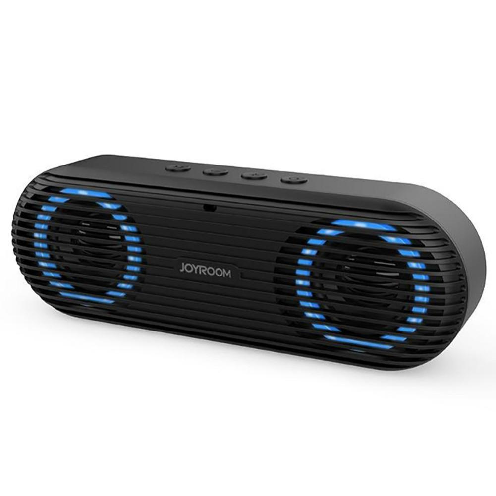 bluetooth-speakers Joyroom JR-M01S Portable Bluetooth Speaker with 360 Degree Stereo Sound-Black Joyroom JR M01S Portable Bluetooth Speaker Black