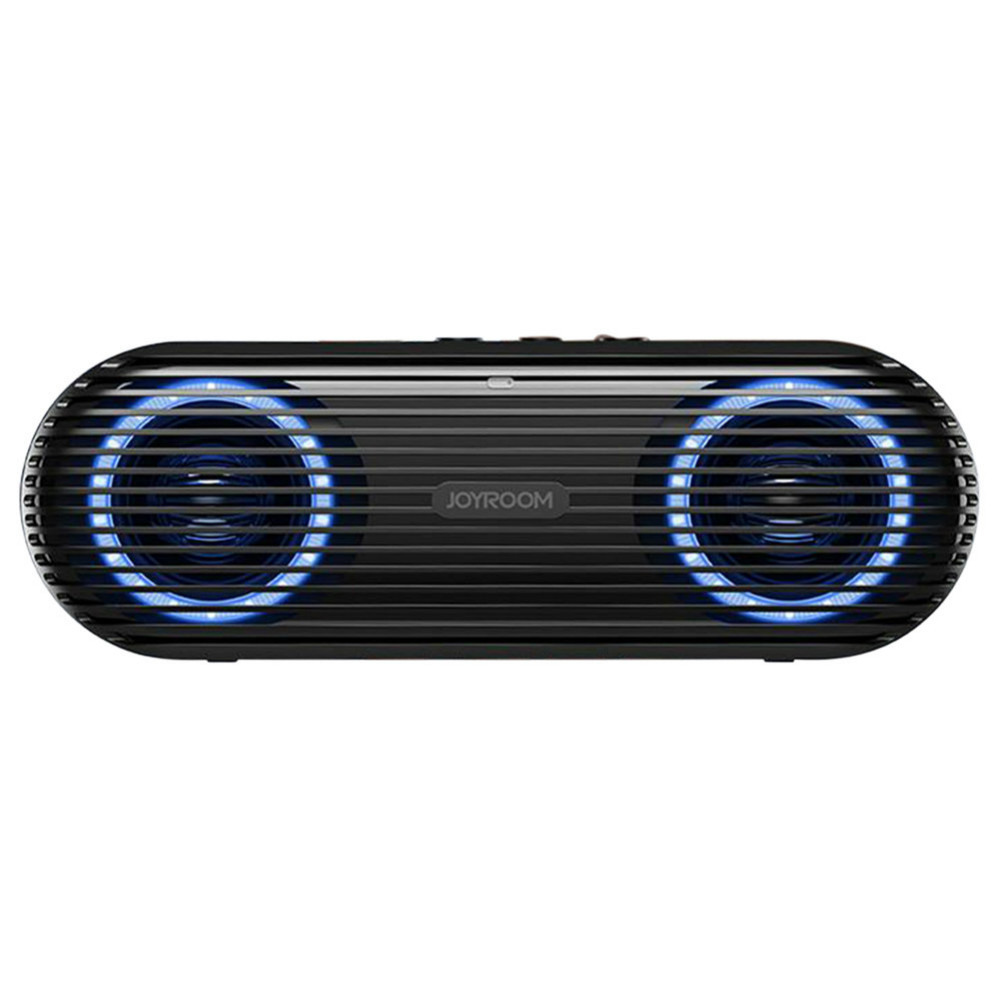 bluetooth-speakers Joyroom JR-M01S Portable Bluetooth Speaker with 360 Degree Stereo Sound-Black Joyroom JR M01S Portable Bluetooth Speaker Black 1