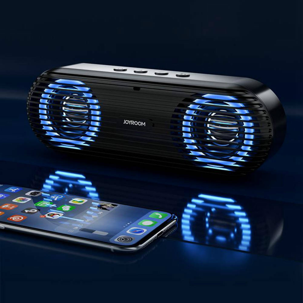 bluetooth-speakers Joyroom JR-M01S Portable Bluetooth Speaker with 360 Degree Stereo Sound-Black Joyroom JR M01S Portable Bluetooth Speaker Black 4
