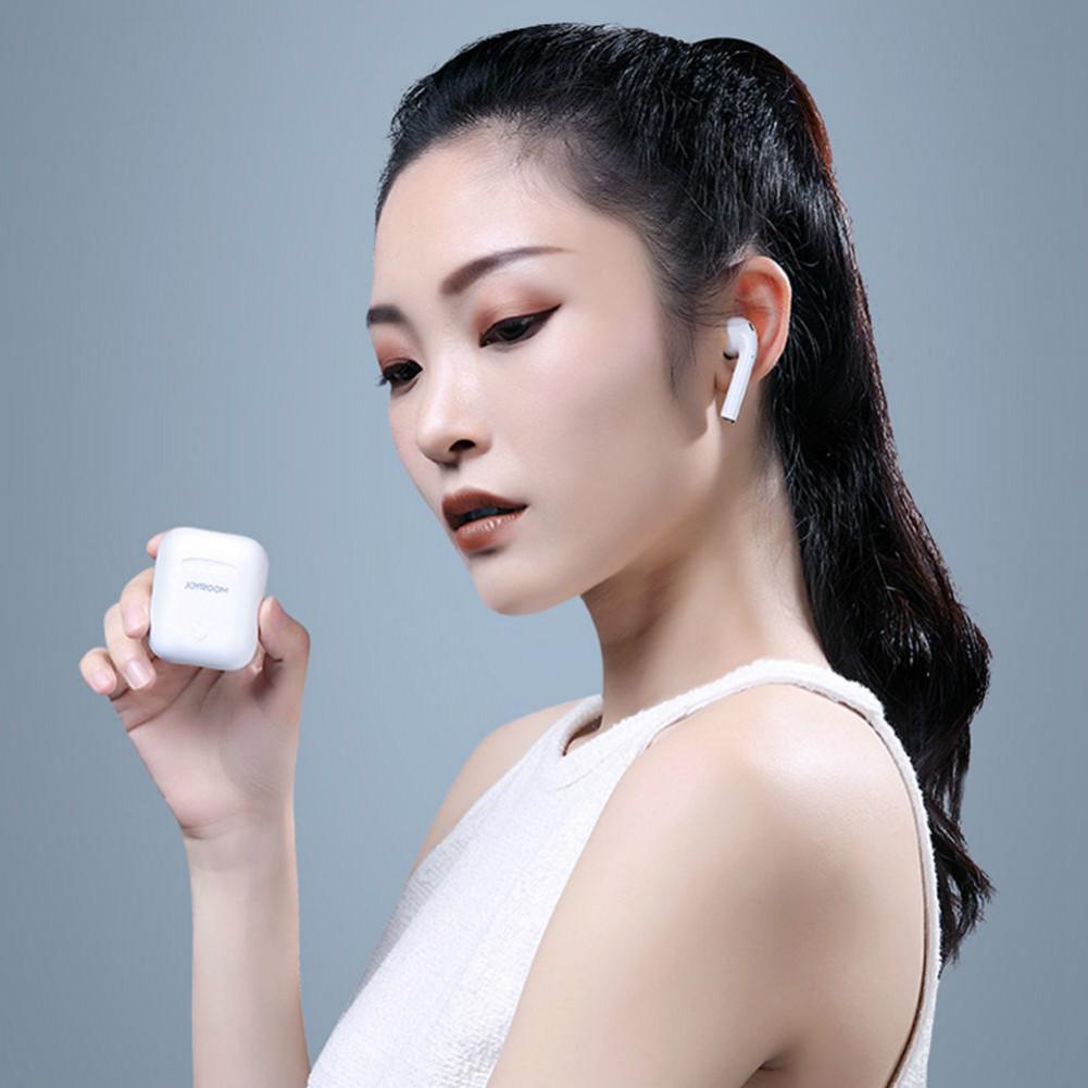 earbud-headphones Joyroom JRT03S TWS Bluetooth 5.0 Earbuds Noise Reduction-White Joyroom JRT03S TWS Bluetooth 5.0 Earbuds Noise Reduction White 3