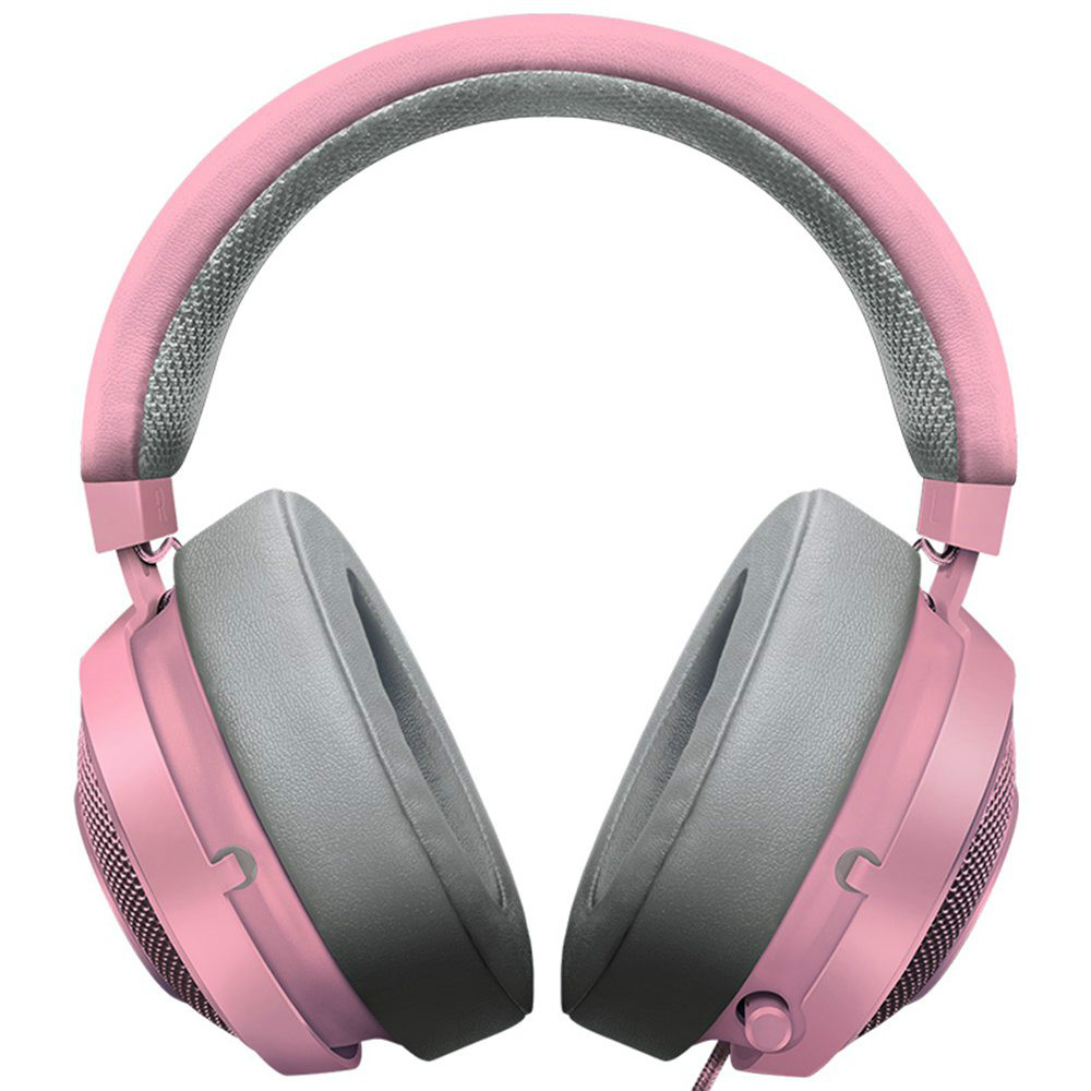 on-ear-over-ear-headphones Razer Kraken Gaming Headset Compatible with PC Mac Xbox One*PS4 Nintendo Switch-Quartz Pink Razer Kraken Gaming Headset Compatible with PC Mac Xbox One PS4 Nintendo Switch Quartz Pink 1