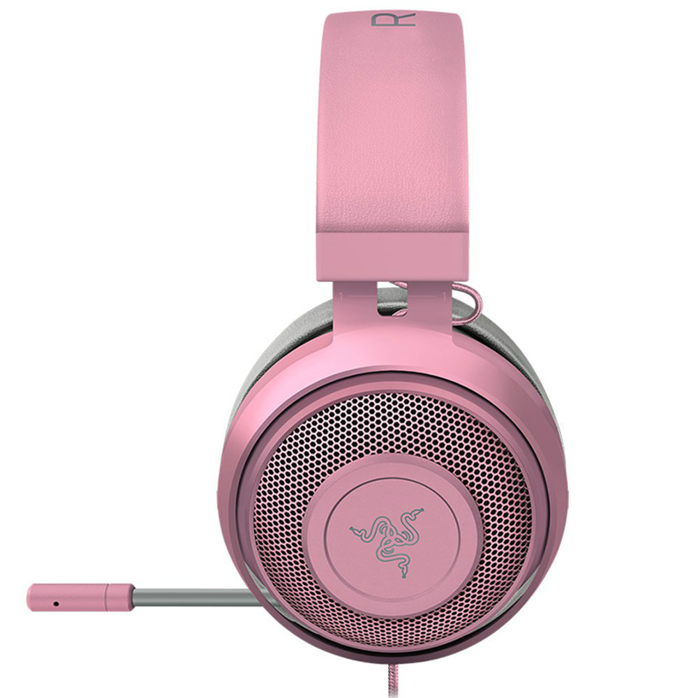 on-ear-over-ear-headphones Razer Kraken Gaming Headset Compatible with PC Mac Xbox One*PS4 Nintendo Switch-Quartz Pink Razer Kraken Gaming Headset Compatible with PC Mac Xbox One PS4 Nintendo Switch Quartz Pink 3