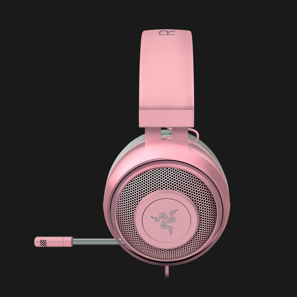 on-ear-over-ear-headphones Razer Kraken Gaming Headset Compatible with PC Mac Xbox One*PS4 Nintendo Switch-Quartz Pink Razer Kraken Gaming Headset Compatible with PC Mac Xbox One PS4 Nintendo Switch Quartz Pink 4