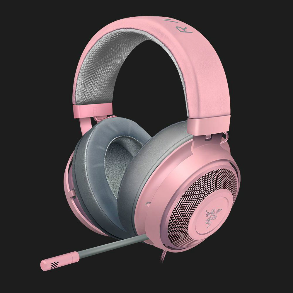 on-ear-over-ear-headphones Razer Kraken Gaming Headset Compatible with PC Mac Xbox One*PS4 Nintendo Switch-Quartz Pink Razer Kraken Gaming Headset Compatible with PC Mac Xbox One PS4 Nintendo Switch Quartz Pink 5