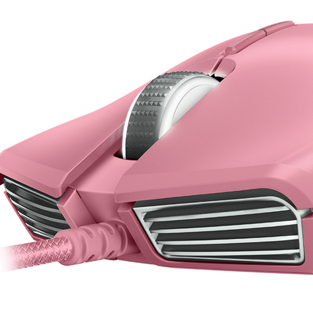 wired-mouse Razer Lancehead Tournament Edition Wired Gaming Mouse 16,000 DPI 9 Buttons Ambidextrous-Quartz Pink Razer Lancehead Tournament Edition Wired Gaming Mouse 16000 DPI 9 Buttons Ambidextrous Quartz Pink 3