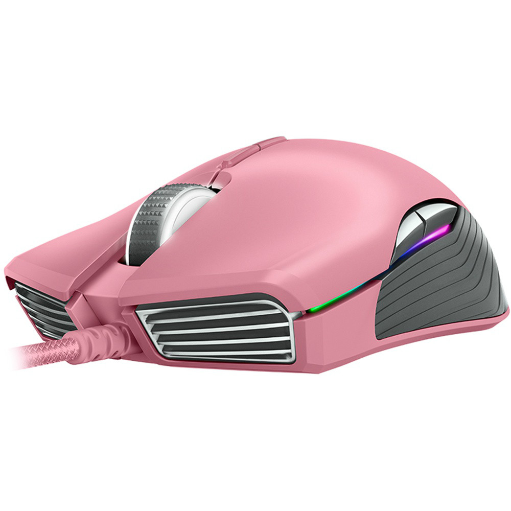 wired-mouse Razer Lancehead Tournament Edition Wired Gaming Mouse 16,000 DPI 9 Buttons Ambidextrous-Quartz Pink Razer Lancehead Tournament Edition Wired Gaming Mouse 16000 DPI 9 Buttons Ambidextrous Quartz Pink 4