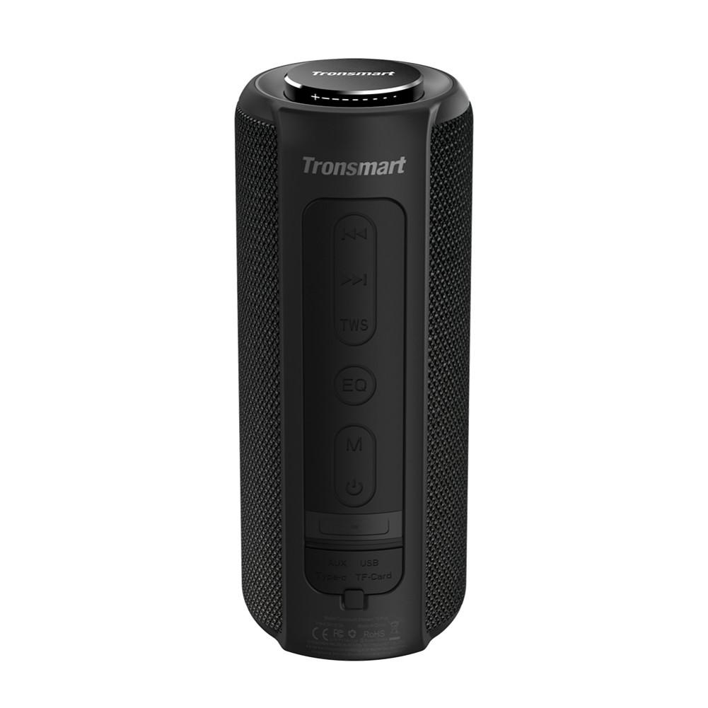 bluetooth-speakers Tronsmart Element T6 Plus SoundPulse™ Portable Bluetooth Speaker with 40W Max Output Deep Bass IPX6 Waterproof-Black Tronsmart Element T6 Plus SoundPulse™ Portable Bluetooth Speaker with 40W Max Output Deep Bass IPX6 Waterproof Black
