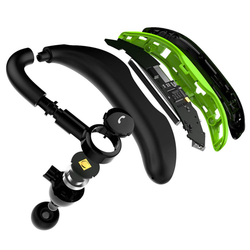 earbud-headphones F600 Wireless Bluetooth Earbuds In-ear Earphone with HD Mic 170mAh Battery-Green F600 Wireless Bluetooth Earphones Green 6