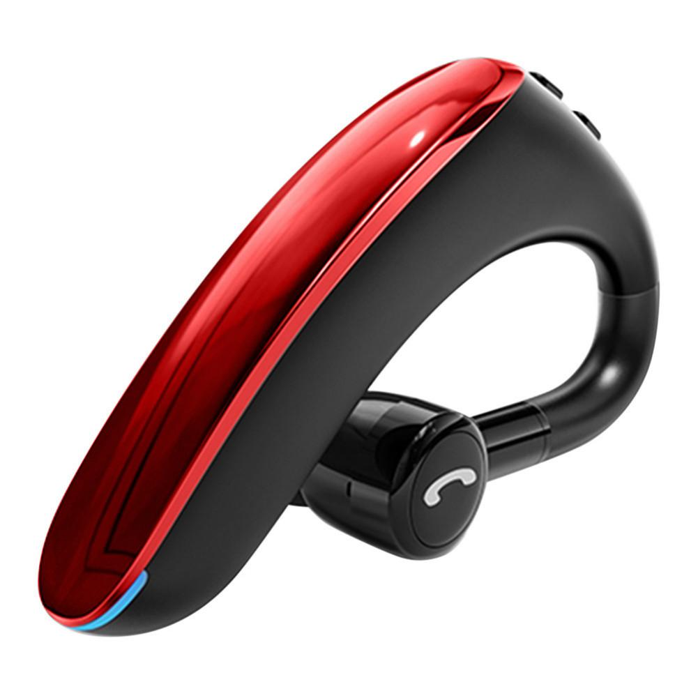 earbud-headphones Yincine F900 Wireless Bluetooth 5.0 In-Ear Earbuds Noise Cancelling 170mAh Battery with Mic-Red F900 Bluetooth 5 0 in Ear Earbuds Red