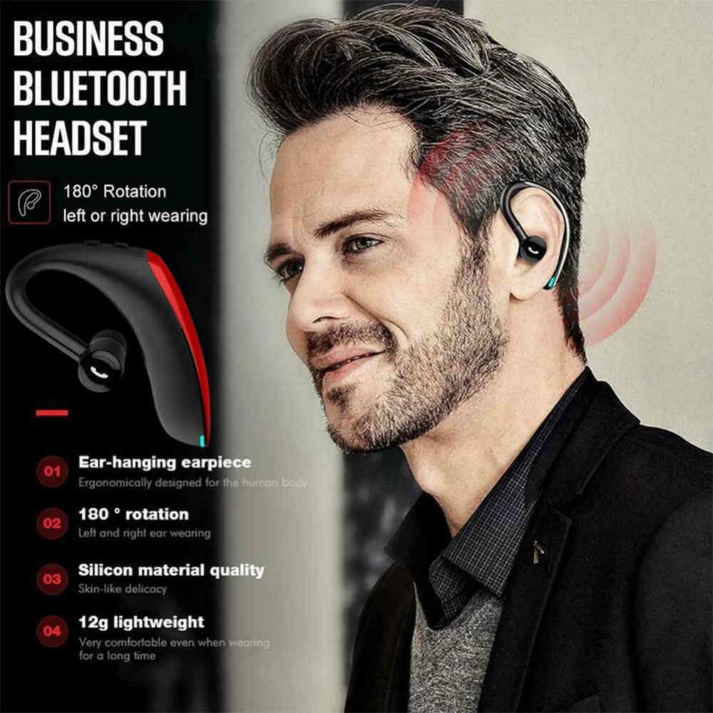 earbud-headphones Yincine F900 Wireless Bluetooth 5.0 In-Ear Earbuds Noise Cancelling 170mAh Battery with Mic-Red F900 Bluetooth 5 0 in Ear Earbuds Red 5