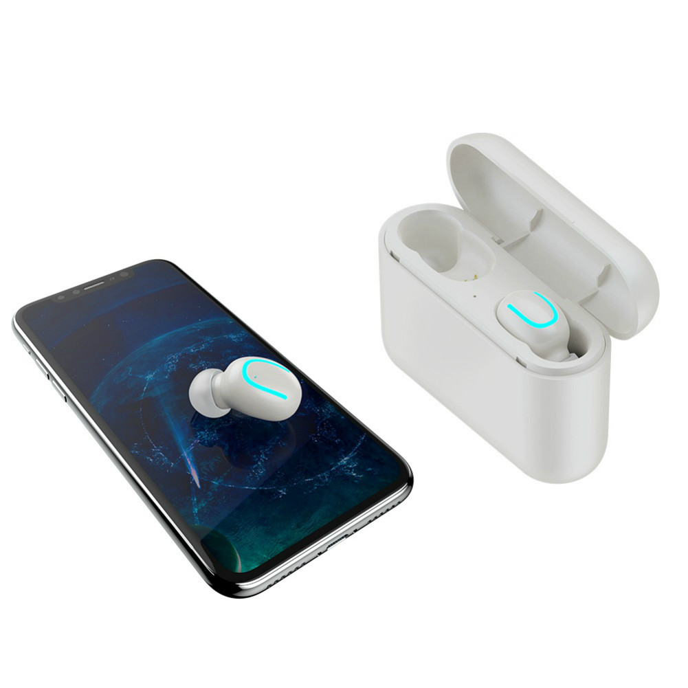 earbud-headphones HBQ Q32 TWS Bluetooth 5.0 Earbuds Stereo IPX5 Water Resistant-White HBQ Q32 TWS Bluetooth 5 0 Earbuds White 5