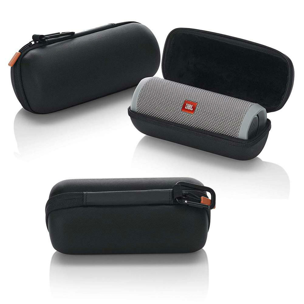 bluetooth-speakers Carrying Case for JBL Flip 4 Bluetooth Speaker - Black JBL Flip 4 Zipper Bag Black 4