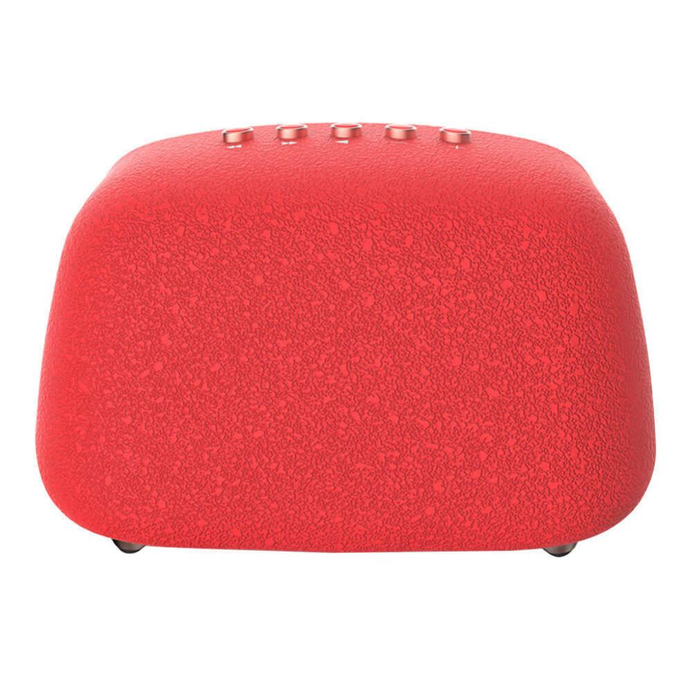 bluetooth-speakers JONTER M1 Wireless Bluetooth 4.2 Speaker Subwoofers Loudspeakers Radio-Red JONTER M1 Bluetooth Speaker Red 2