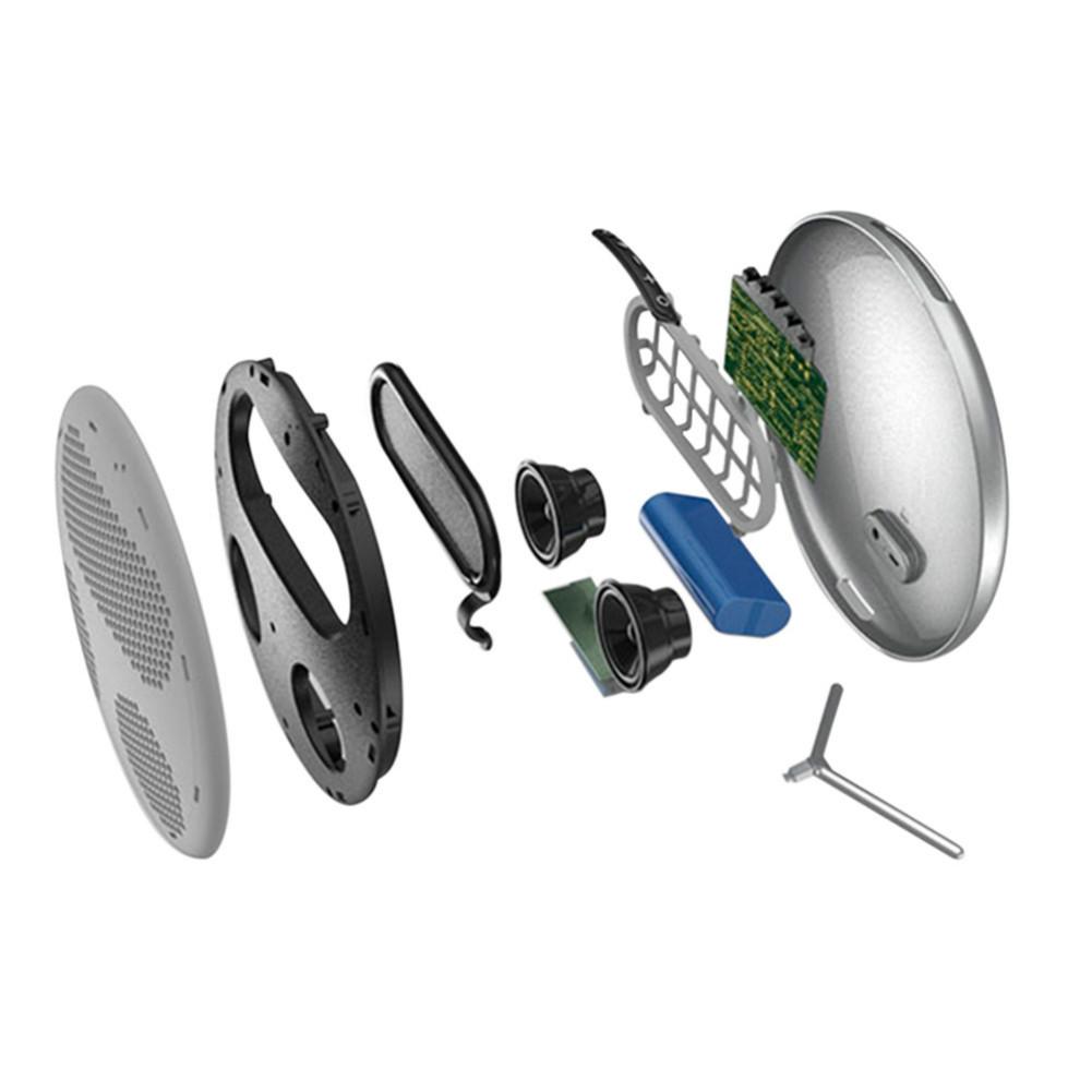 bluetooth-speakers JONTER M16 Portable Bluetooth Speaker HiFi Sound-Silver JONTER M16 Bluetooth Portable Speaker Silver 3