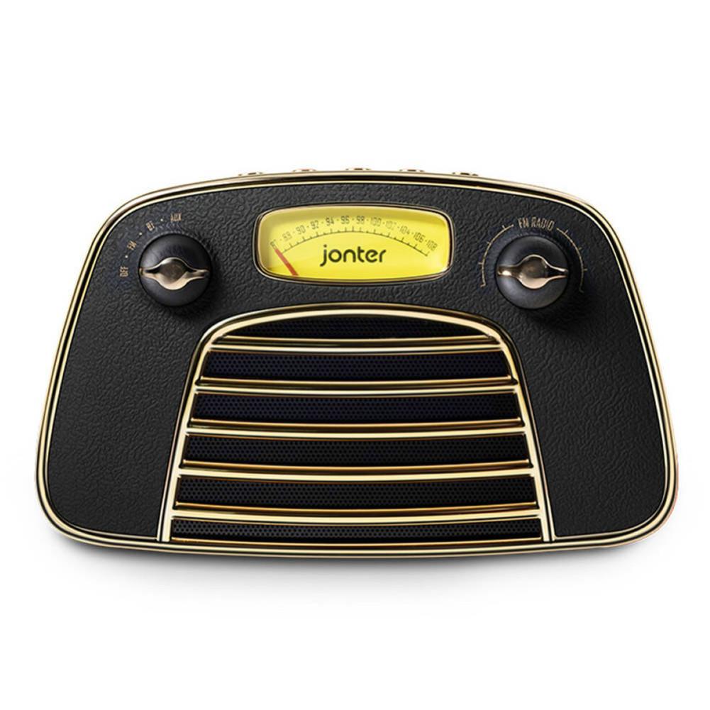 bluetooth-speakers JONTER M3 Wireless Bluetooth 4.2 Speaker Subwoofers Loudspeakers Radio-Black JONTER M3 Bluetooth Speaker Black