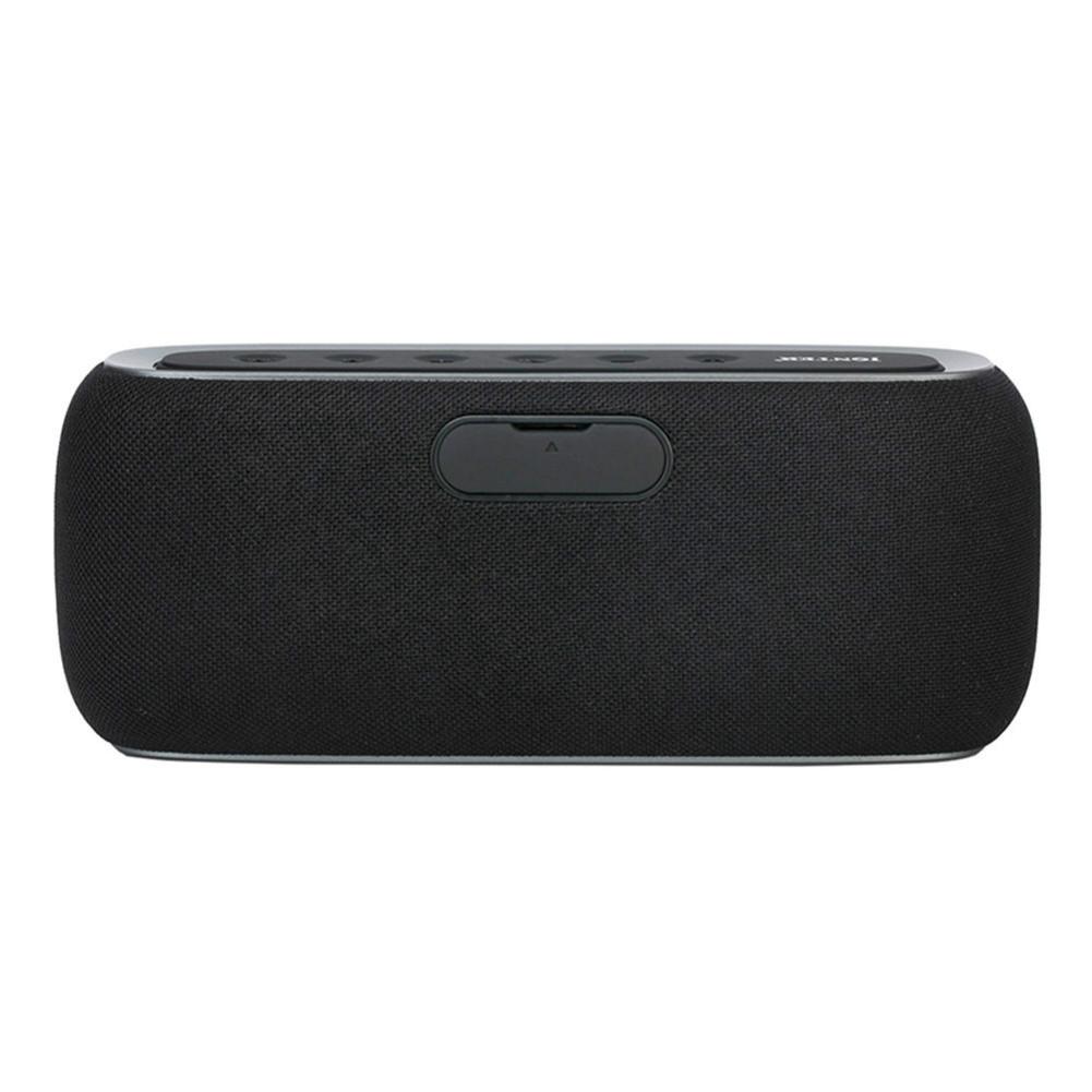 bluetooth-speakers JONTER M46 Portable Bluetooth Speaker with Time Display FM Radio-Black JONTER M46 Portable Bluetooth Speaker Black 2